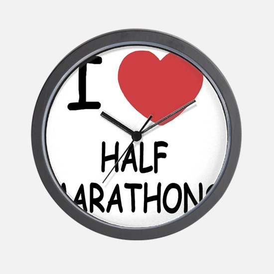 HALF_MARATHONS Wall Clock