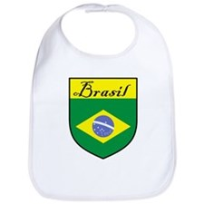 Brasil Flag Crest Shield Bib