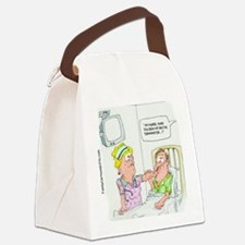 Funny Missing Rectal Thermometer Canvas Lunch Bag