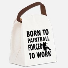 paintball Canvas Lunch Bag