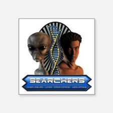 "Searchers Tshirt Square Sticker 3"" x 3"""