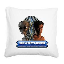 Searchers Tshirt Square Canvas Pillow