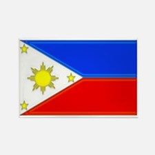 Philippine Flag Rectangle Magnet