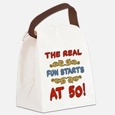 RealFun50 Canvas Lunch Bag