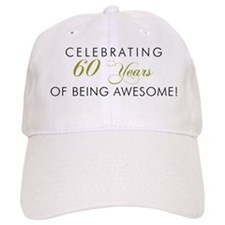 Celebrating 60 Years Awesome Light Baseball Cap