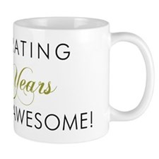 Celebrating 60 Years Awesome Light Mug