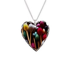 Mallets Necklace Heart Charm