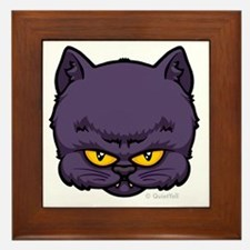 03_DarkKitty Framed Tile