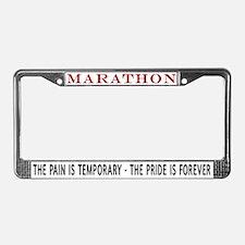 Marathon (Pride is Forever) License Plate Frame