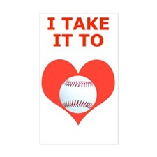 Baseball Itouch4 iPod Case, Ta Decal