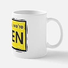 Were open Mug