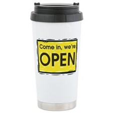 Were open Travel Mug