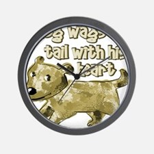 dogtail Wall Clock