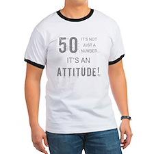 50th Birthday Attitude T