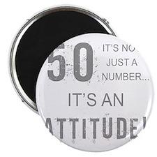 50th Birthday Attitude Magnet