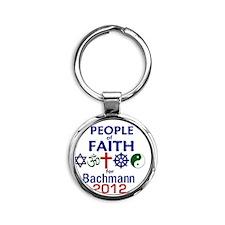 Bachmann 2012 Round Keychain