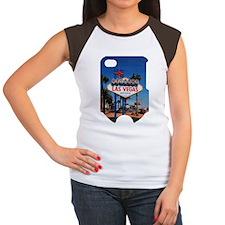 LV_2.34x3.2_iPhone4 Sli Women's Cap Sleeve T-Shirt
