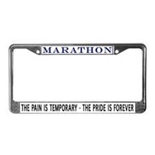Marathon (Pride is Forever) License Plate Frame