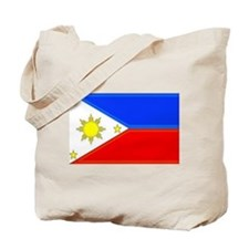 Philippine Flag Tote Bag