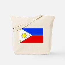 Philippine Flag Tote Bag