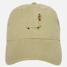 Genie on a Baseball Baseball Cap