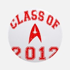 CO2012 Trekkies Red Distressed Round Ornament