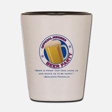 BeerPartyBFBeer Shot Glass