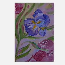Pastel Purples Postcards (Package of 8)