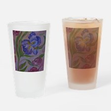 Pastel Purples Drinking Glass