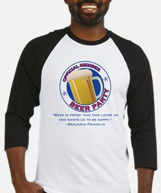 BeerPartyBFBeer Baseball Jersey