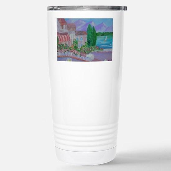 Paradise Island Stainless Steel Travel Mug