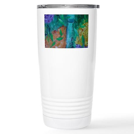 Summer Garden Stainless Steel Travel Mug