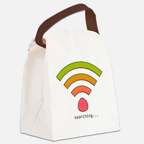 wifi GRANDE Canvas Lunch Bag