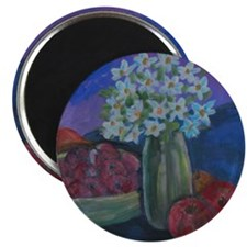 Fruits and Flowers Magnet