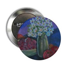"Fruits and Flowers 2.25"" Button"