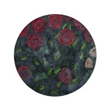 "Autumn Roses 3.5"" Button"