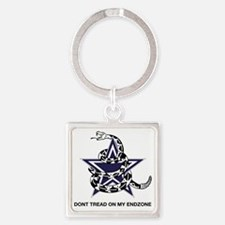 DONT TREAD STAR Square Keychain