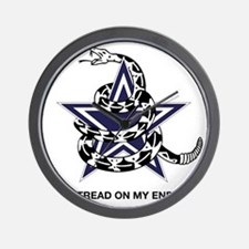 DONT TREAD STAR Wall Clock