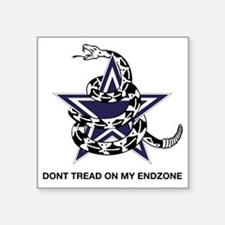 "DONT TREAD STAR Square Sticker 3"" x 3"""