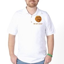 Me Want Cookie Brown T-Shirt