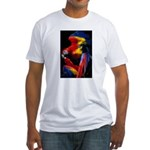 Scarlet Macaw Fitted T-Shirt