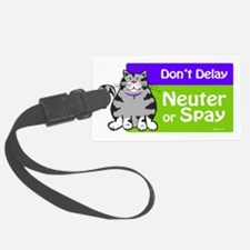 dontdelaycat Luggage Tag