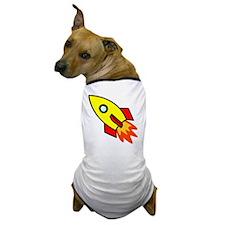 Rocket Yellow Dog T-Shirt