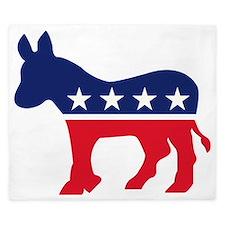 Democrat Donkey King Duvet