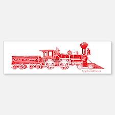 Steam engine Sticker (Bumper)