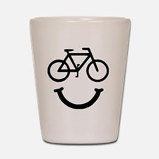 Smile Bike Black Shot Glass