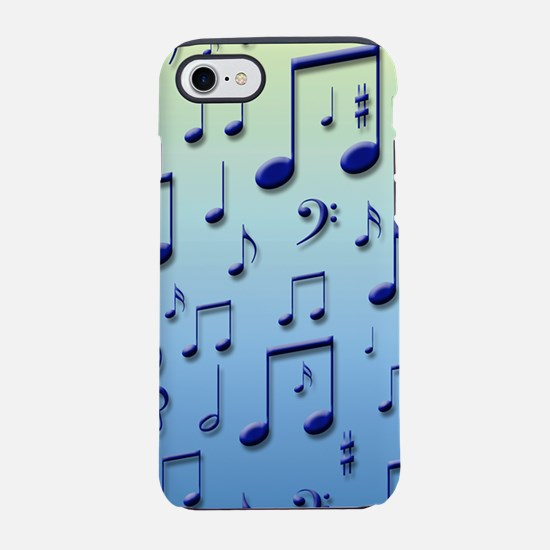 Music notes iPhone 7 Tough Case