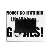 Soccer Goals Black (2) Picture Frame