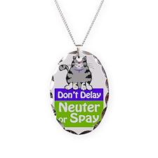 dontdelaycat2 Necklace