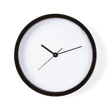 Black Flag knockout Wall Clock